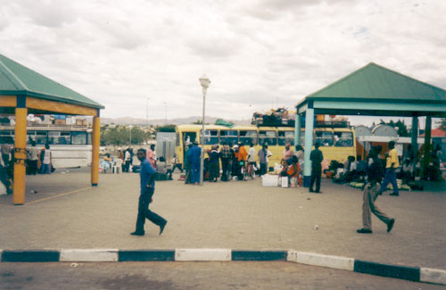 Bus Station in Windhoek
